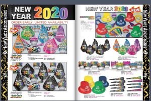 New Year 2020 - Party Hats, Party Assortments & Party Decorations