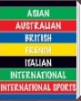 Beistle Asian, Australian, British, French, Italian, International, Internal Sports Party Supplies