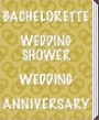 Bachelorette, Wedding Shower, Wedding, Anniversary Party Supplies & Decorations by Beistle