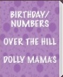 Beistle - Birthday/Numbers, Over the Hill, Dolly Mama's Party Supplies, Party Decorations