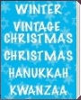 Winter, Christmas, Kanukkah, Kwanzaa Party Supplies